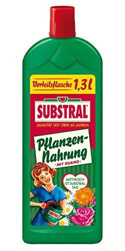 Substral Pflanzen-Nahrung mit Guano, Hochwertiger Universal-Flüssigdünger für...