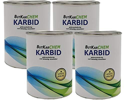 ButKarCHEM KB-DE 465851 2 Kg Karbid acetylen Feste Steine *Gebrauchsfertig* in...