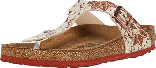 Birkenstock Women's Gizeh Sandal Boho Earth Birko-Flor Size 36 M EU