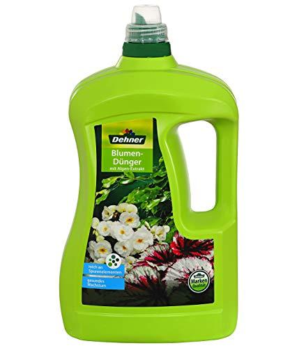 Dehner Blumendünger mit Algen, flüssig, 3 l, für ca. 450 l
