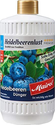 Mairol 9148 Heidelbeerenlust Heidelbeerendünger 1l, Einfarbig