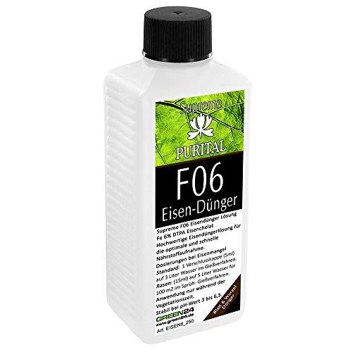 GREEN24 Purital F06 Supreme Eisen-Dünger flüssig, Eisendüngerlösung aus...