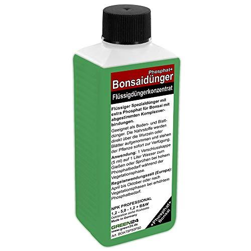 GREEN24 Bonsai-Dünger NPK Phosphat+ HIGHTECH Dünger zum düngen von Bonsai...