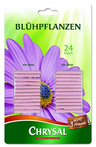 Chrysal Blühpflanzen Düngestäbchen 24 Stück