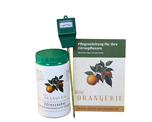 Meine Orangerie Zitrus-Pflegepaket Piccolo: Starker Zitrusdünger + nützlicher...