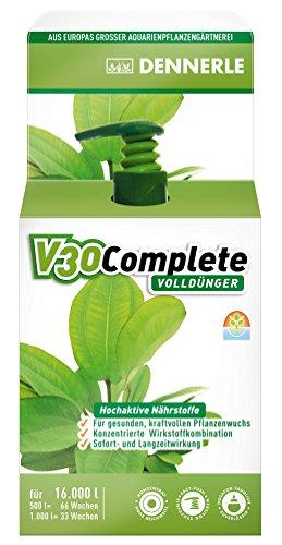 Dennerle V30 Complete, Volldünger für Aquarienpflanzen 4460 - Wasserpflanzen...