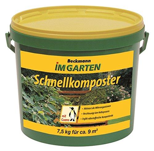 Schnellkomposter mit Guano Kompostbeschleuniger Verrottungshelfer 7,5 kg für 9...