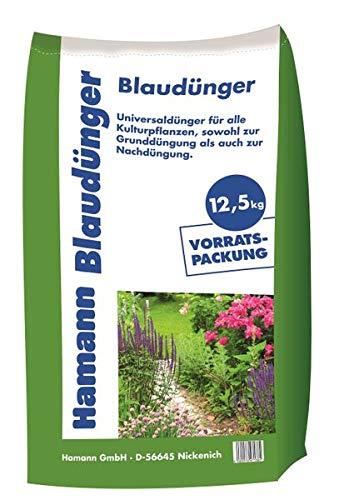 Hamann Blaudünger 12,5 kg - Sack Volldünger Universaldünger - für eine...