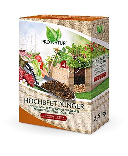 Pro Natur Hochbeet Dünger 2,5 kg 7+4+7 Düngung aus natürlichen,...