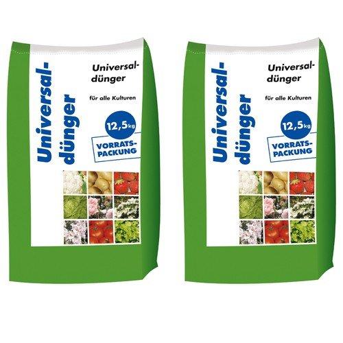 25 kg Universaldünger NPK 8-4-5 Gartendünger organisch-mineralischer Dünger...