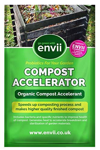 Envii Compost Accelerator - Bio Kompostbeschleuniger - Schnellkomposter mit...