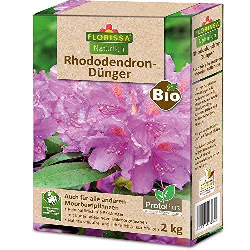 Florissa Natürlich 58589 BIO Rhododendron Dünger mit ProtoPlus für schöne...