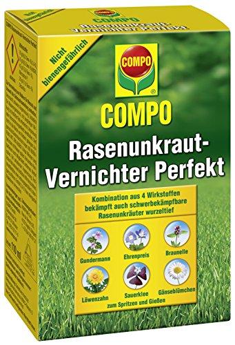 Compo Rasen Unkrautvernichter Perfekt, Vernichtung von schwerbekämpfbaren...