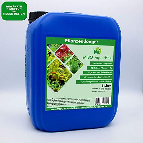 MIBO Pflanzendünger 5000 ml Kanister ausreichend für 50.000 L Aquariumdünger...
