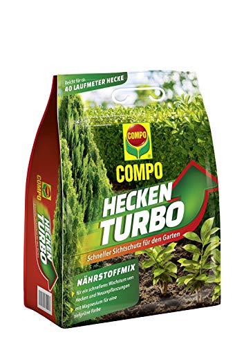 Compo Heckenturbo, Nährstoffmix, Spezialdünger für Hecken und...