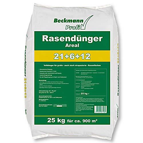 25 kg Premium Rasendünger mit Sofortwirkung Boni-Shop® Profi Rasen Dünger...