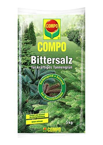 COMPO Bittersalz für alle Fichten, Tannen und andere Koniferen, Gartendünger,...