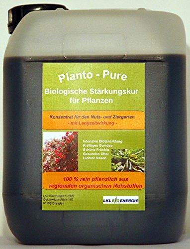Planto - Pure – Naturdünger für Rasen, Rosen, Obst, Gemüse und Zierpflanzen...