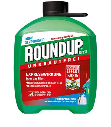 Roundup 3211 Express Unkrautfrei, Fertigmischung zur Bekämpfung von Unkräutern...