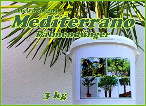 Freilanpalmendünger, Palmendünger, Hanfpalmendünger, 3 Kg Mediterrano