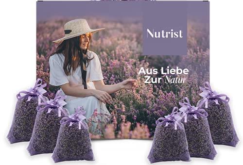 nutrist 10x Lavendelsäckchen - Duftsäckchen Kleiderschrank | Lavendel...