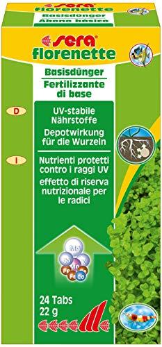 sera florenette 24 Tabs für prächtige Wasserpflanzen im Aquarium, mit...