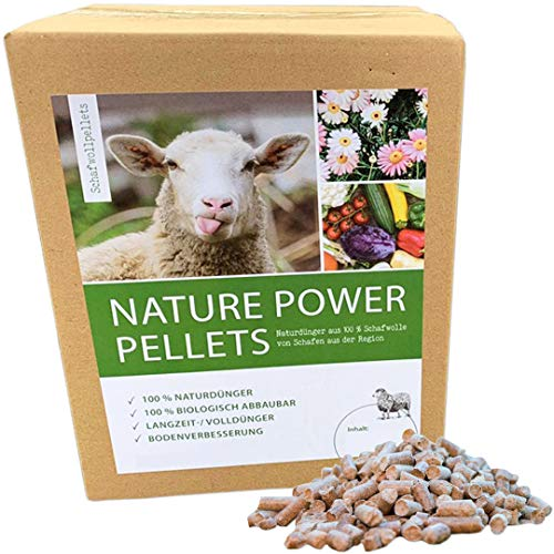 Nature Power Pellets 100% Schafwollpellets 1000g / 1kg Biologischer Naturdünger...