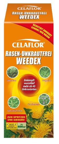 Celaflor 3579 Rasen-Unkrautfrei Weedex, Hochwirksamer Unkrautvernichter zur...