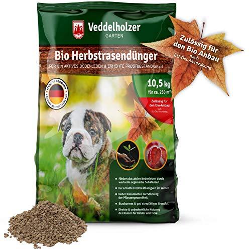 Veddelholzer Bio Herbstrasendünger mit Langzeit-Wirkung nachhaltiger...
