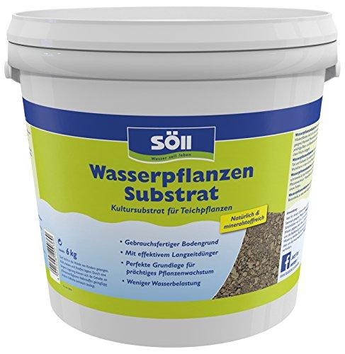 Söll 20036 WasserpflanzenSubstrat Kultursubstrat für Teichpflanzen 6 kg -...