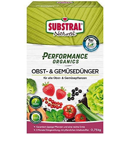 Substral Performance Organics Obst & Gemüse Dünger, Hochwertiger, natürlicher...