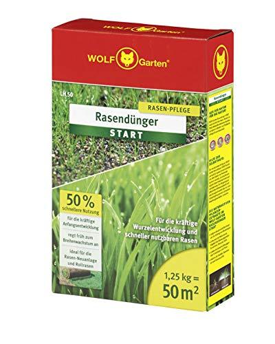 WOLF-Garten - Rasen-Starter-Dünger LH 50; 3833020