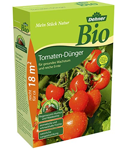 Dehner Bio Tomaten-Dünger, 1.5 kg, für ca. 18 qm