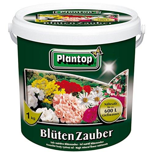 Plantop Blütenzauber Blumendünger im 1 kg-Eimer NPK 15+11+15 (+2)...