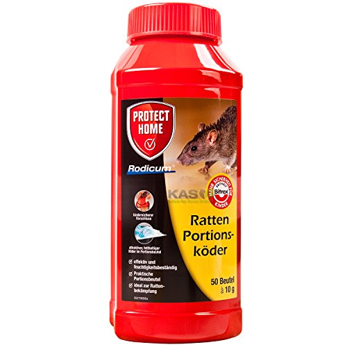 Protect Ratten Portionskoeder 500gr