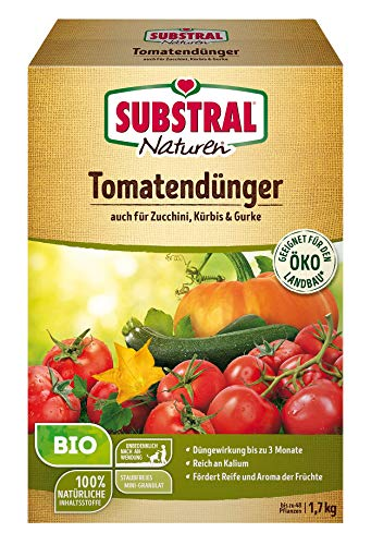 Naturen Bio Tomatendünger, Organisch-mineralischer Volldünger für Tomaten,...