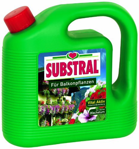 Substral Für Balkonpflanzen, Qualitäts-Blumendünger für alle Pflanzen auf...