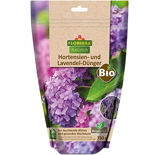 Florissa Natürlich 58736 BIO Dünger für Hortensien und Lavendel mit ProtoPlus...