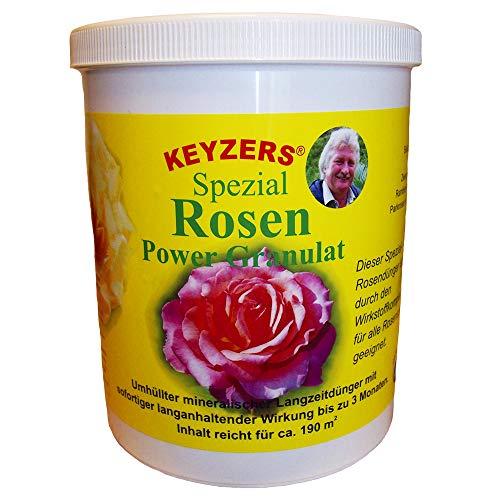 Keyzers Spezial Rosen Power Granulat 1300g mineralischer Langzeitdünger für...