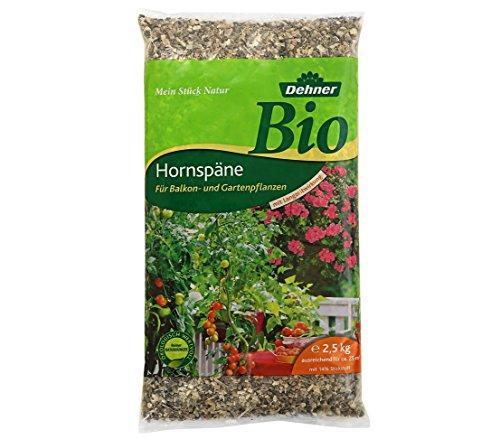 Dehner Bio Dünger, Hornspäne, für Balkon- und Gartenpflanzen, 2.5 kg, für...