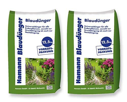 Hamann Blaudünger 25 kg - Sack Volldünger Universaldünger - für eine gesunde...