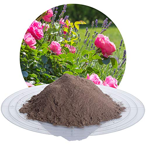 Schicker Mineral Lava Urgesteinsmehl, 25 kg feines Steinmehl mit Mineralien für...