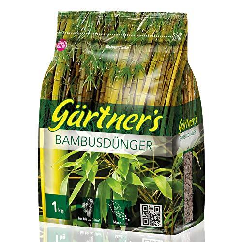 Gärtner's Bambusdünger 1 kg I NPK Dünger für Bambus Pflanzen I Für...