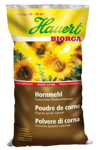 Hauert HBG Dünger AG Biorga BIO Hornmehl 2,5kg