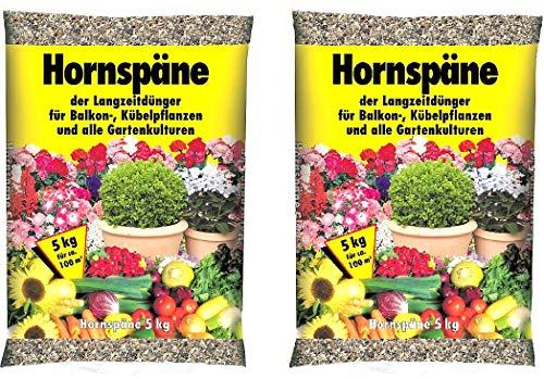 Hornspäne 5kg organisch Langzeitdünger Garten Dünger
