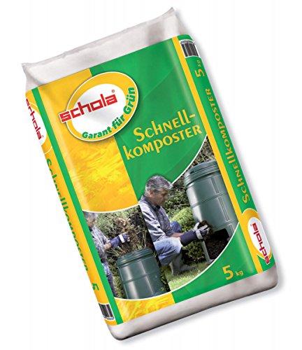 Schola Schnellkomposter zur Beschleunigung des Rottevorgangs von Garten- und...