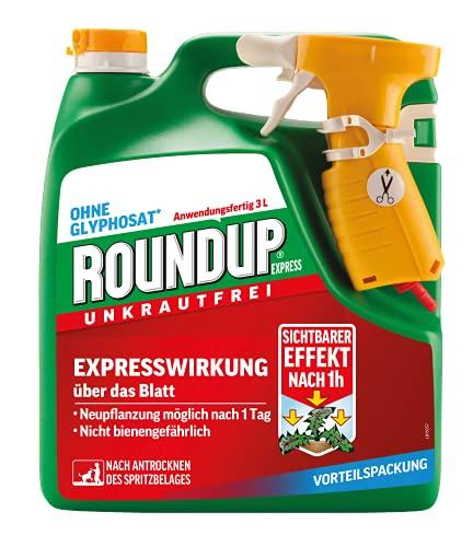 Roundup Express Unkrautfrei, Anwendungsfertiges Spray zur Bekämpfung von...