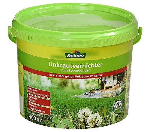 Dehner Unkrautvernichter plus Rasendünger, 8 kg, für ca. 400 qm