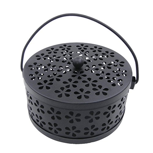 Mengonee Iron Hollow Mosquito Coils Box Moskito Killer Pest Repeller Mosquito...