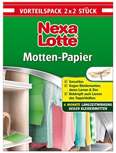 Nexa Lotte Mottenschutzpapier, Schützt effektiv bis zu 6 Monate vor...